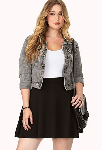 how to be stylish in a plus size skater skirt 13 - how-to-be-stylish-in-a-plus-size-skater-skirt-13