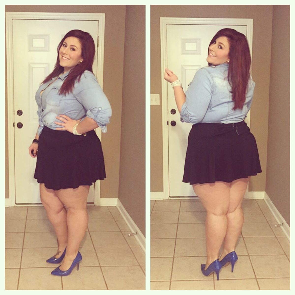 how to be stylish in a plus size skater skirt 16 - how-to-be-stylish-in-a-plus-size-skater-skirt-16