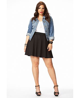 how to be stylish in a plus size skater skirt 5 - how-to-be-stylish-in-a-plus-size-skater-skirt-5