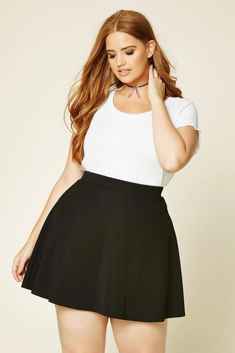 how to be stylish in a plus size skater skirt 9 - how-to-be-stylish-in-a-plus-size-skater-skirt-9