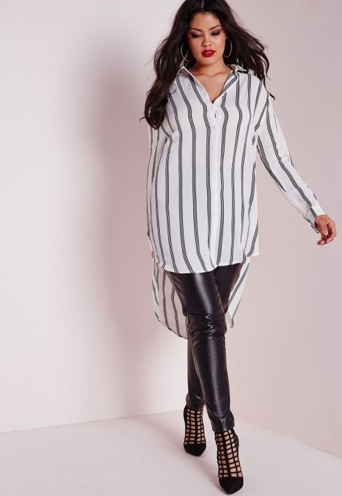 how to wear a plus size striped top in all day outfits 3 - how-to-wear-a-plus-size-striped-top-in-all-day-outfits-3