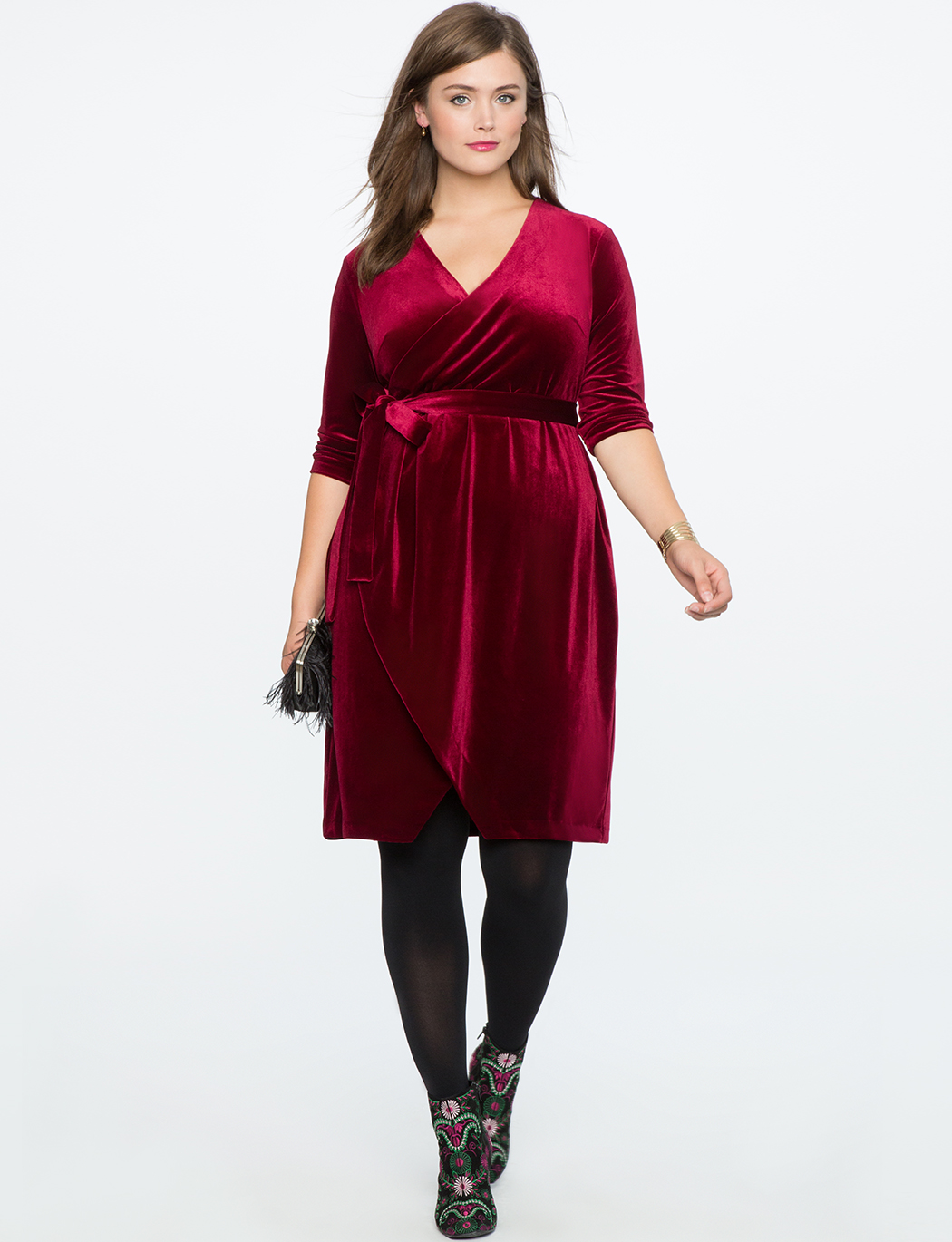 plus size burgundy dress 1 - 11 ways to wear a burgundy plus size dress
