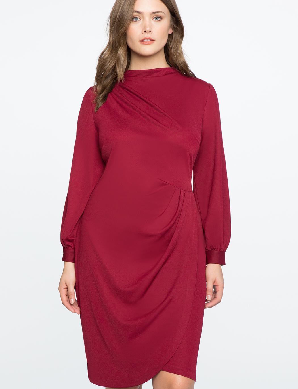 plus size burgundy dress 2 - plus size burgundy dress 2