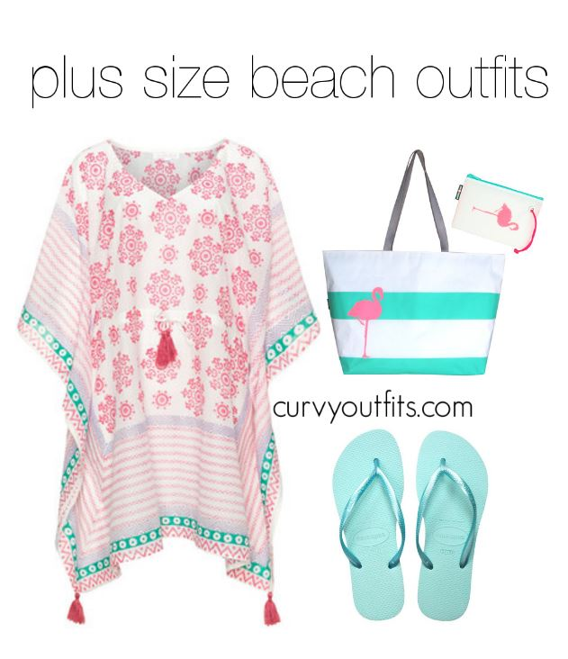 5 plus size beach outfits to wear this summer 2 - 5 plus size beach outfits to wear this summer 2