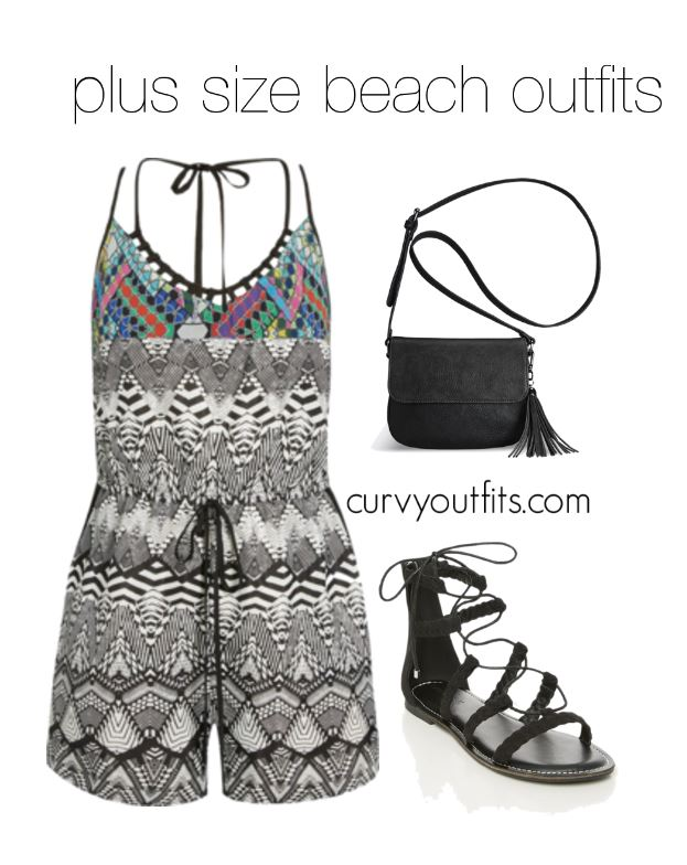 72fab5a32a 5 plus size beach outfits to wear this summer 5 - curvyoutfits.com