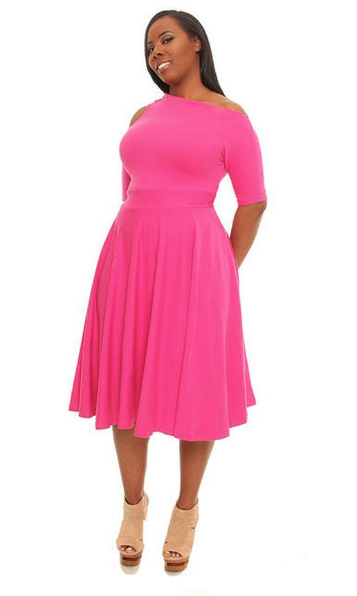 5 Plus Size Pink Dresses For Spring Style Curvyoutfits