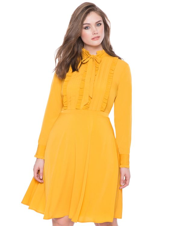 5 Plus Size Yellow Dresses For Fun Spring Style Page 3 Of 5