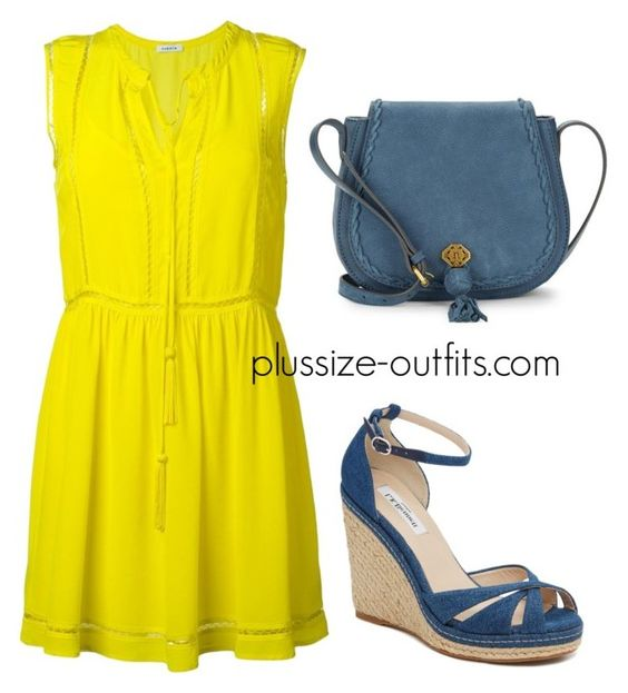 5 plus size yellow dresses for fun spring style 4 - 5 plus size yellow dresses for fun spring style