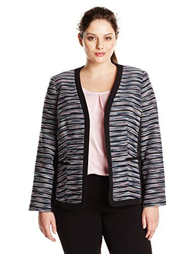 5 tweed plus size blazers for work - 5-tweed-plus-size-blazers-for-work