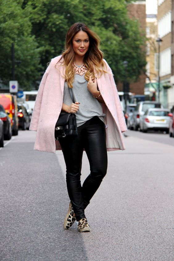 5 ways to wear leather pants in spring if you are curvy 4 - 5-ways-to-wear-leather-pants-in-spring-if-you-are-curvy-4