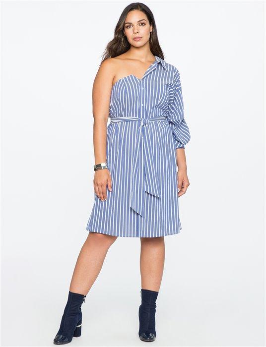 plus size striped dress 1 - plus size striped dress 1