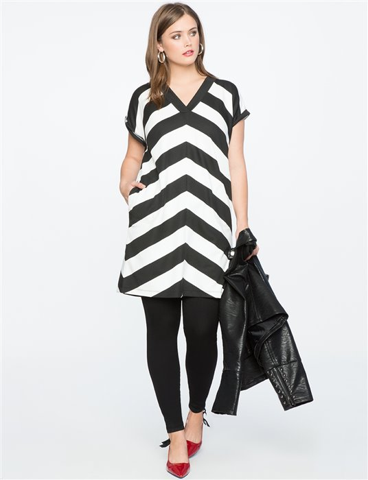 plus size striped dress 2 - plus size striped dress 2