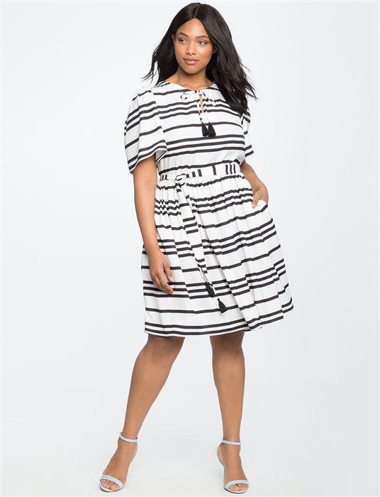 plus size striped dress 4 - plus size striped dress 4