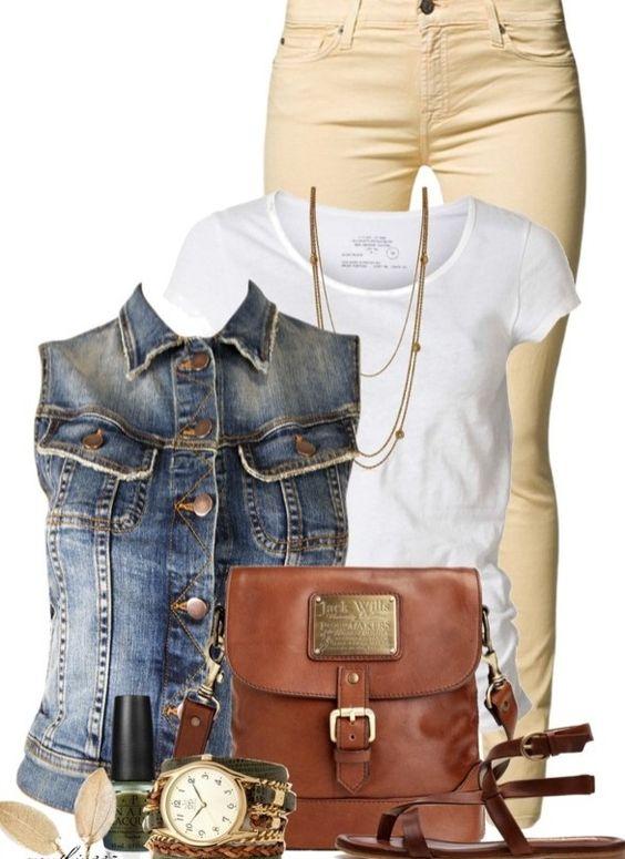 5 casual ways to wear plus size denim vest 1 - 5-casual-ways-to-wear-plus-size-denim-vest-1