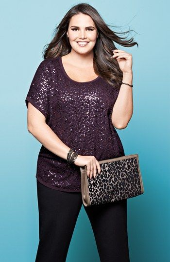 5 glamorous ways to wear a plus size sequin top 4 - 5-glamorous-ways-to-wear-a-plus-size-sequin-top-4