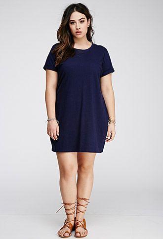 5 plus size navy blue dresses for spring 2 - 5-plus-size-navy-blue-dresses-for-spring-2