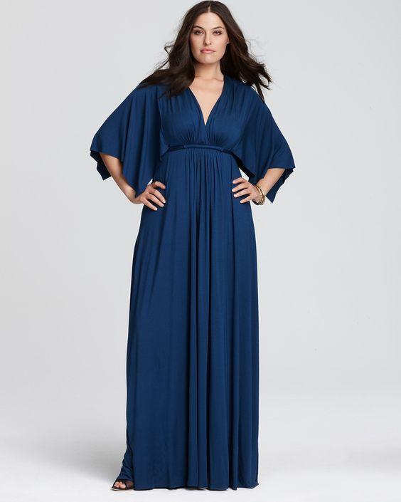5 plus size navy blue dresses for spring 4 - 5-plus-size-navy-blue-dresses-for-spring-4