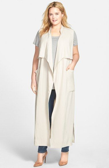 5 chic plus size outfits with a trench coat 2 - 5-chic-plus-size-outfits-with-a-trench-coat-2