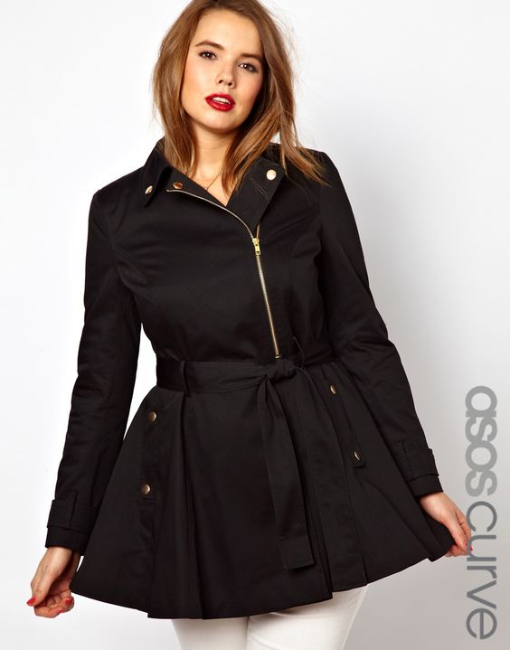 5 chic plus size outfits with a trench coat 3 - 5-chic-plus-size-outfits-with-a-trench-coat-3