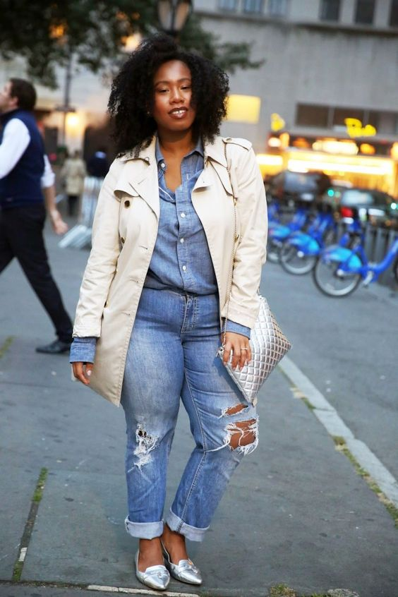 5 chic plus size outfits with a trench coat 4 - 5-chic-plus-size-outfits-with-a-trench-coat-4
