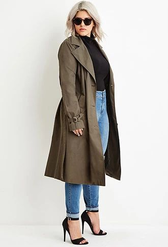 5 chic plus size outfits with a trench coat - 5-chic-plus-size-outfits-with-a-trench-coat
