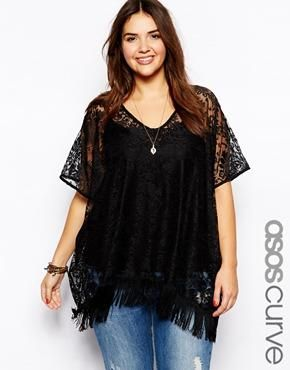 5 ways to combine a plus size fringed kimono 4 - 5-ways-to-combine-a-plus-size-fringed-kimono-4