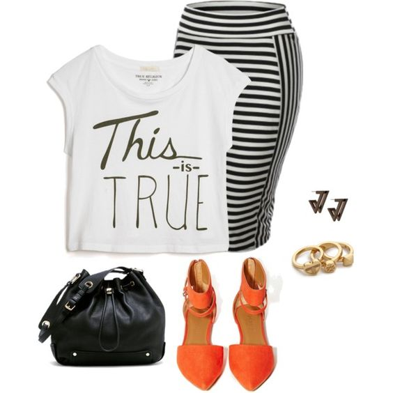 super stylish outfits with plus size logo tshirts 4 - super-stylish-outfits-with-plus-size-logo-tshirts-4