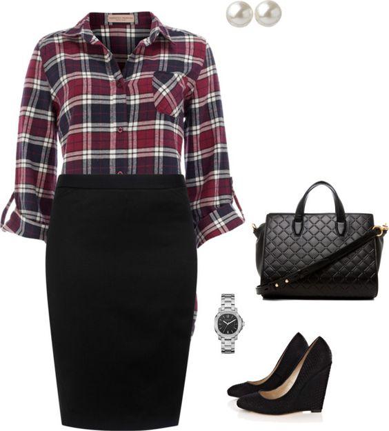 5 stylish ways to wear a plus size plaid shirt 3 - 5-stylish-ways-to-wear-a-plus-size-plaid-shirt-3