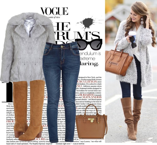 19 stylish winter outfits for curvy women 2 - 19 stylish winter outfits for curvy women 2