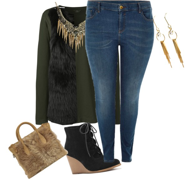 19 stylish winter outfits for curvy women 9 - 19 stylish winter outfits for curvy women 9