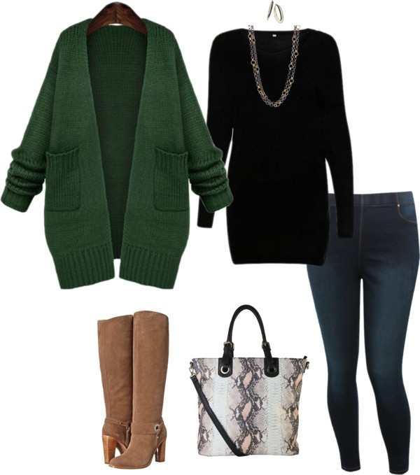 9 plus size winter outfits that you can wear very day - 9 plus size winter outfits that you can wear very day