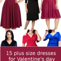 15 beautiful plus size dresses to wear on Valentines day 120x120 - 15 beautiful plus size dresses to wear on Valentine's day