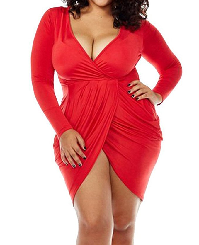 15 beautiful plus size dresses to wear on valentines day 12 - 15-beautiful-plus-size-dresses-to-wear-on-valentines-day-12