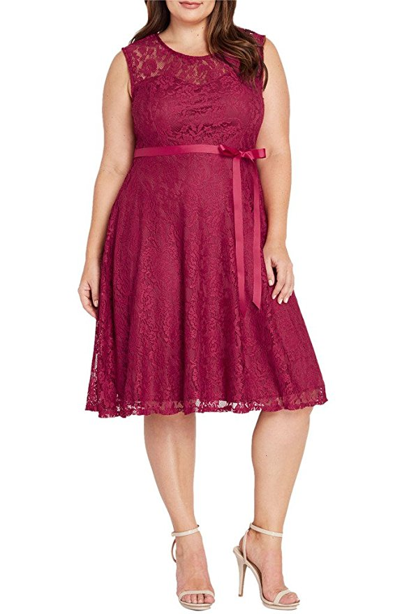 15 beautiful plus size dresses to wear on valentines day 13 - 15-beautiful-plus-size-dresses-to-wear-on-valentines-day-13