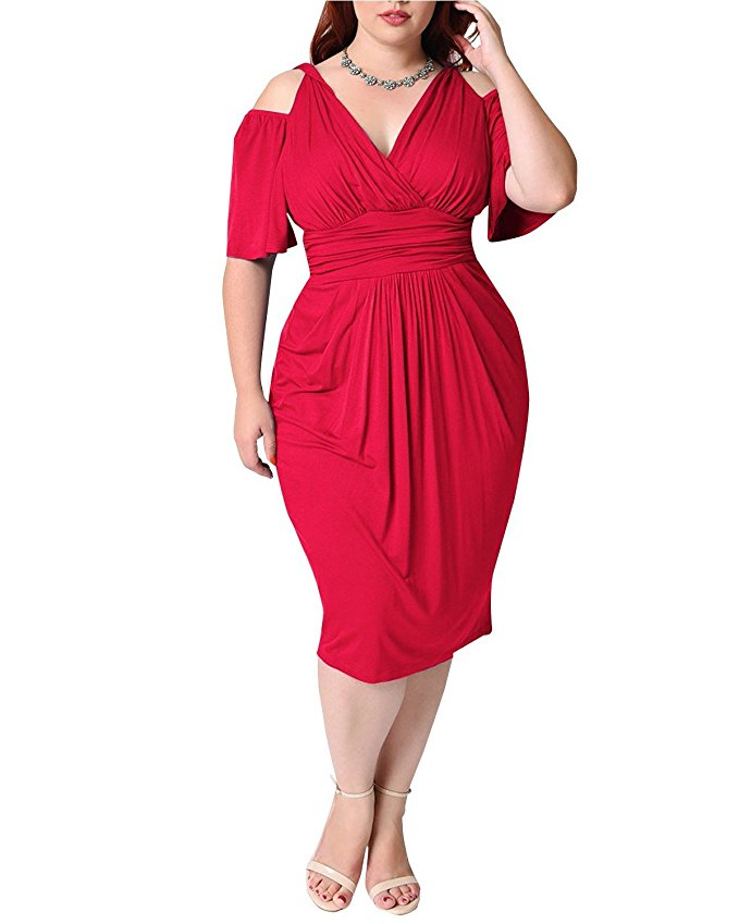 15 beautiful plus size dresses to wear on valentines day 4 - 15-beautiful-plus-size-dresses-to-wear-on-valentines-day-4