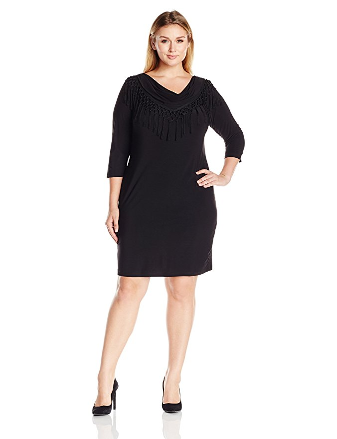 5 plus size black dresses for spring 2 - 5-plus-size-black-dresses-for-spring-2