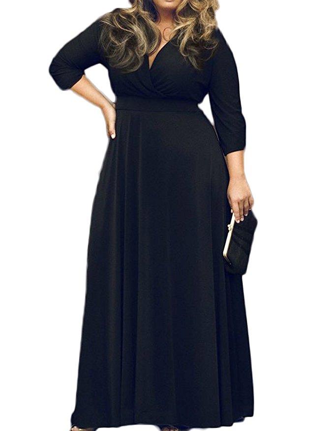 5 plus size black dresses for spring 4 - 5-plus-size-black-dresses-for-spring-4