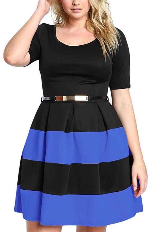7 flattering color block dresses for spring 5 - 7-flattering-color-block-dresses-for-spring-5