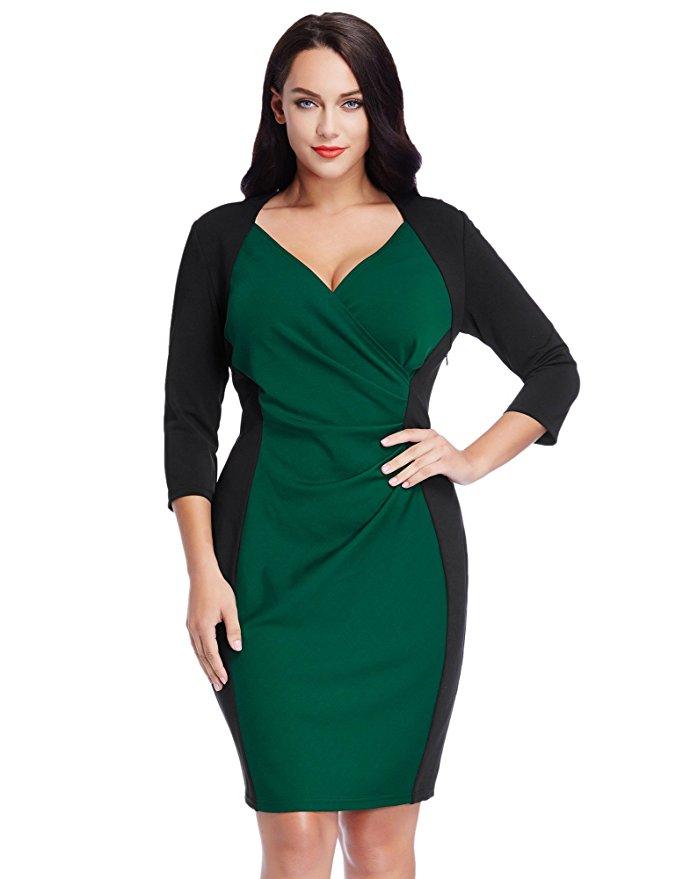 7 flattering color block dresses for spring 6 - 7-flattering-color-block-dresses-for-spring-6
