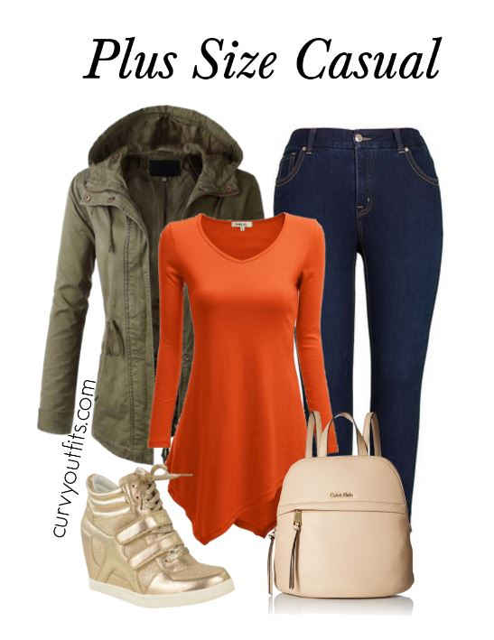 plus size casual outfit for spring1 - OOTD: transitional outfit form winter to spring