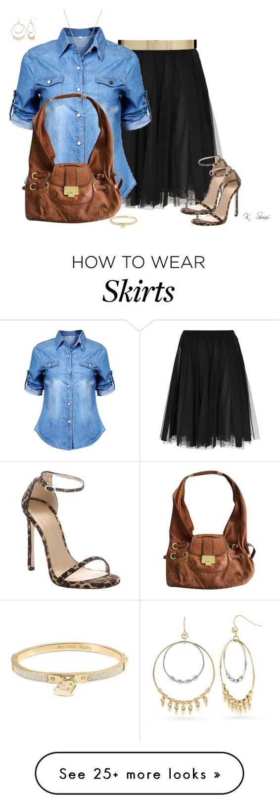 fashionable combinations with a spring tulle skirt 4 - fashionable-combinations-with-a-spring-tulle-skirt-4