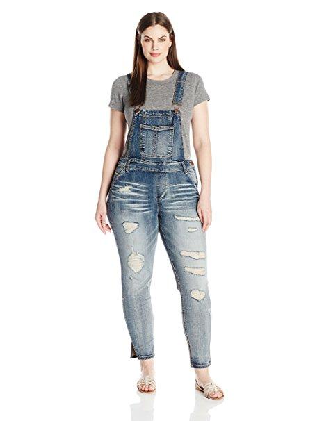 5 Fun Ways To Wear A Plus Size Denim Jumpsuit In Spring