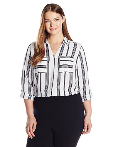 7 stylish curvy tops to wear at work this week - 7 stylish curvy tops to wear at work this week