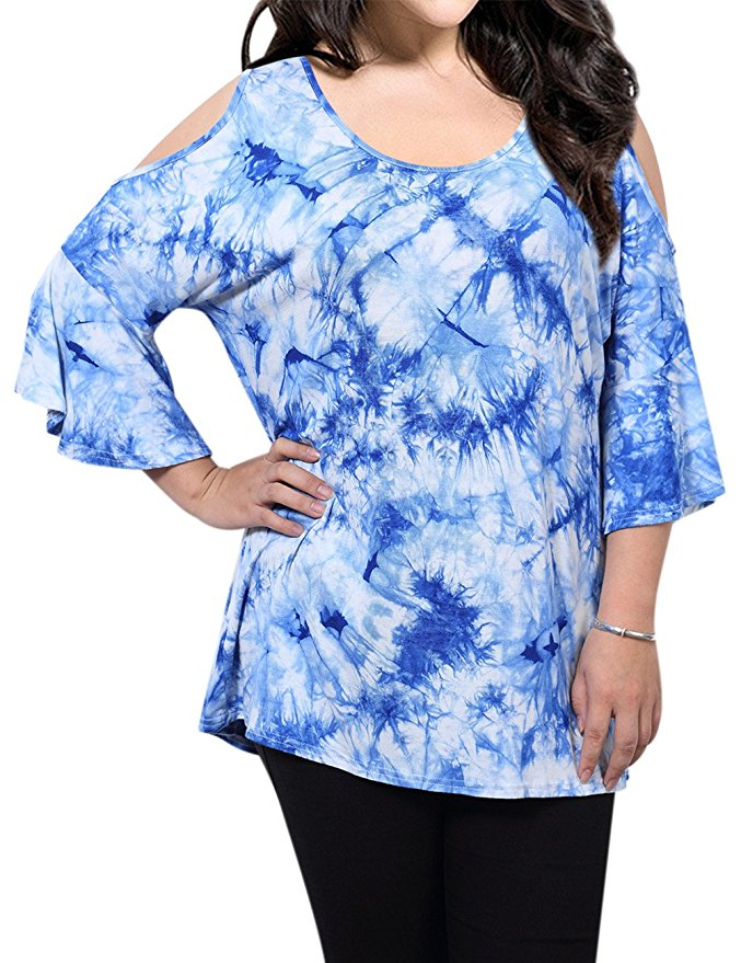 7 stylish ideas on how to wear plus size cold shoulder tops 2 - 7-stylish-ideas-on-how-to-wear-plus-size-cold-shoulder-tops-2
