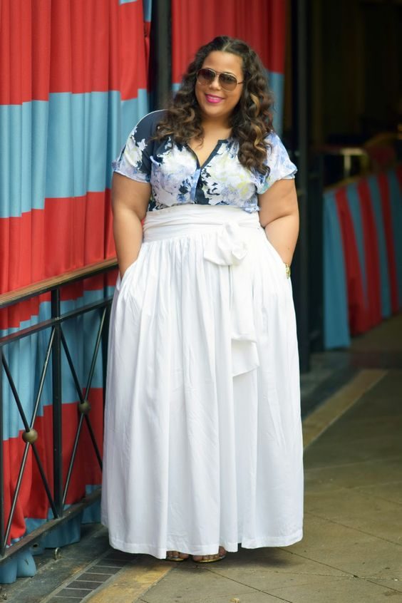 what top to wear with a plus size maxi skirt 1 - what-top-to-wear-with-a-plus-size-maxi-skirt-1