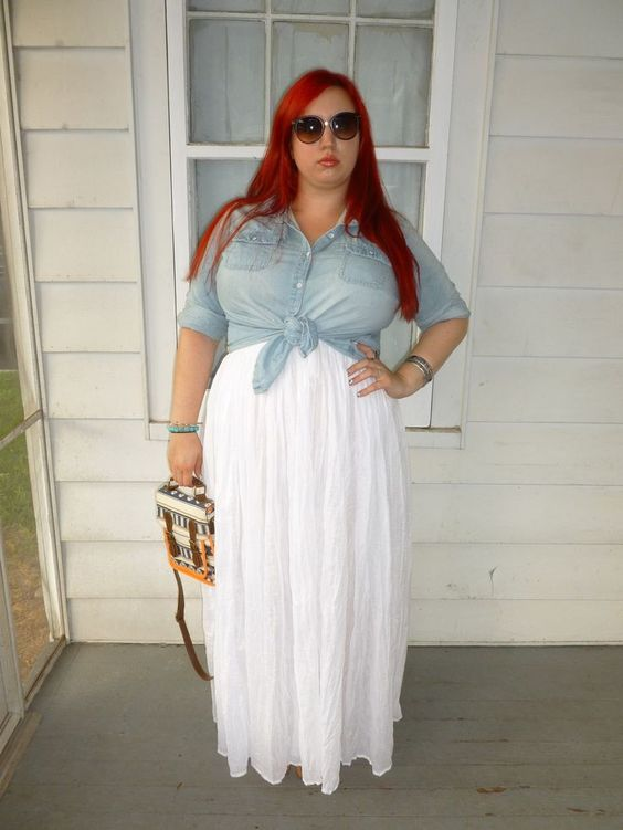 what top to wear with a plus size maxi skirt 2 - what-top-to-wear-with-a-plus-size-maxi-skirt-2