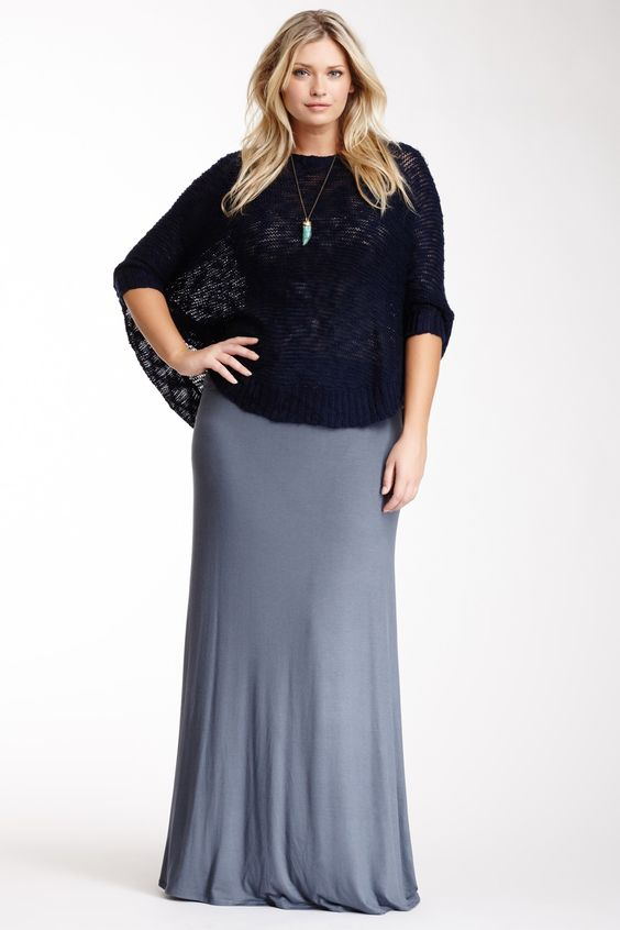 what top to wear with a plus size maxi skirt 6 - what-top-to-wear-with-a-plus-size-maxi-skirt-6