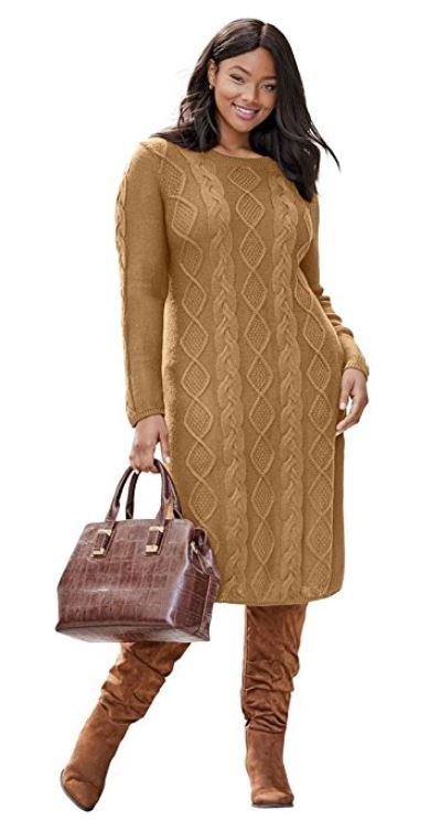 plus size camel dress 3 - plus size camel dress 3