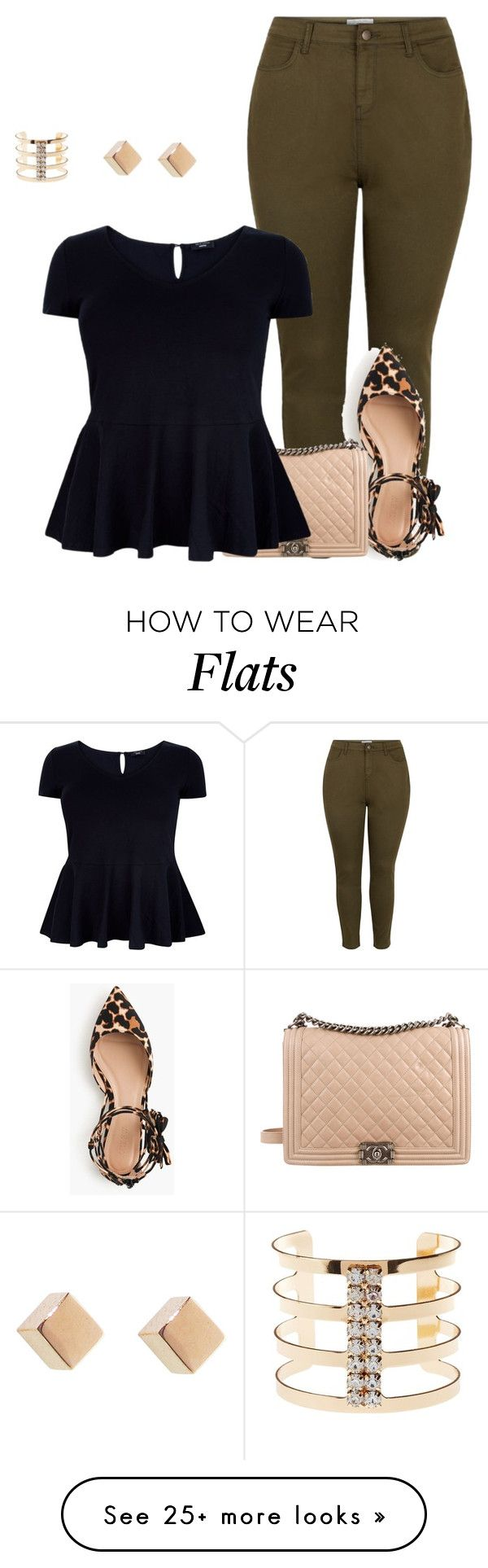 15 plus size outfits with peplum tops you can wear too 6 - 15-plus-size-outfits-with-peplum-tops-you-can-wear-too-6