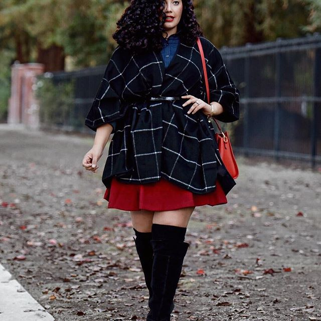 43 amazing plus size fall outfits from instagram 9 - 43-amazing-plus-size-fall-outfits-from-instagram-9